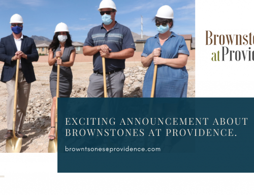 Final New Neighborhood in the Providence Master Planned Community Breaks Ground