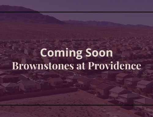 The Last New Community in Providence Las Vegas
