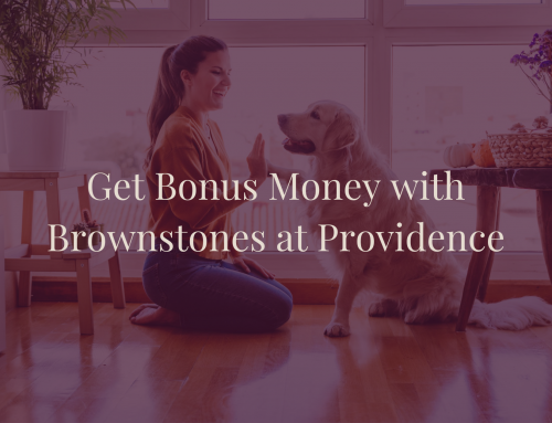 Home Is Possible with Brownstones at Providence