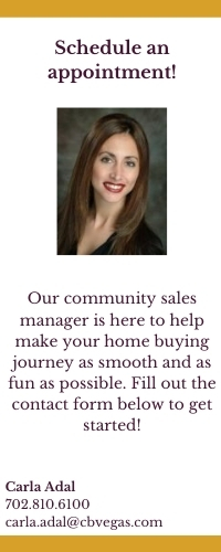 Buying a new home in las vegas