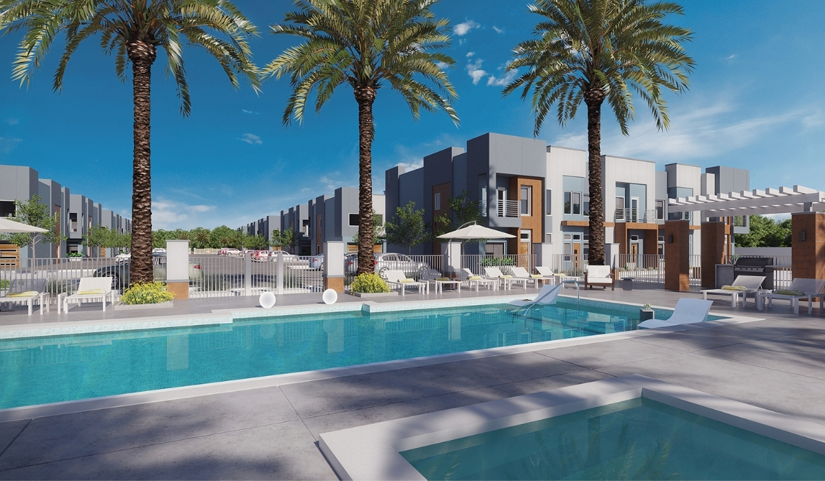 Las Vegas Townhome with Pool